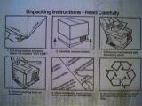 unpacking instructions